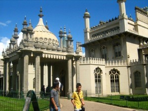 Brighton the Royal Pavilion