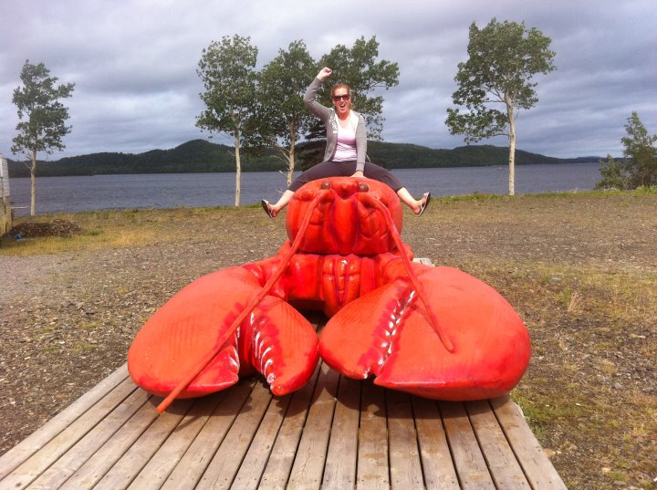Riding a lobster