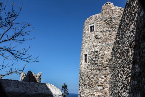 Venetian castle in Chora