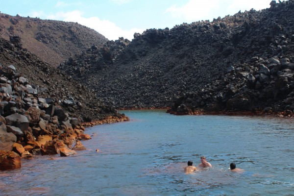 Hot springs, Santorini