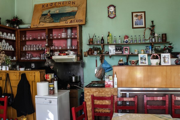 A German cafe in Andissa
