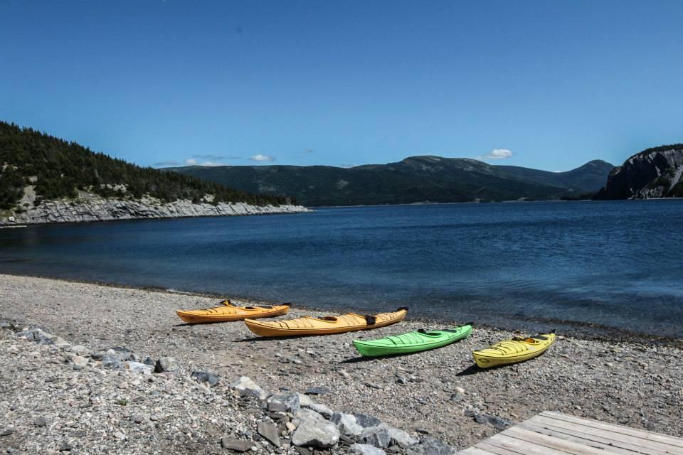 Kayaking Gros Morne