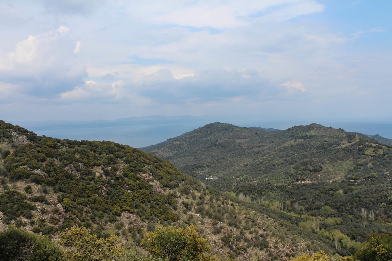 A drive around Lesvos