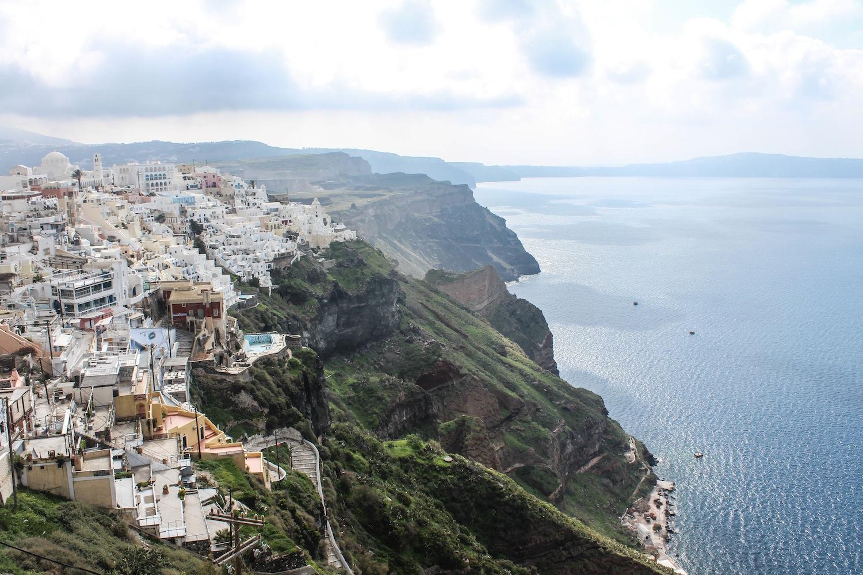 Santorini hike from Fira to Oia