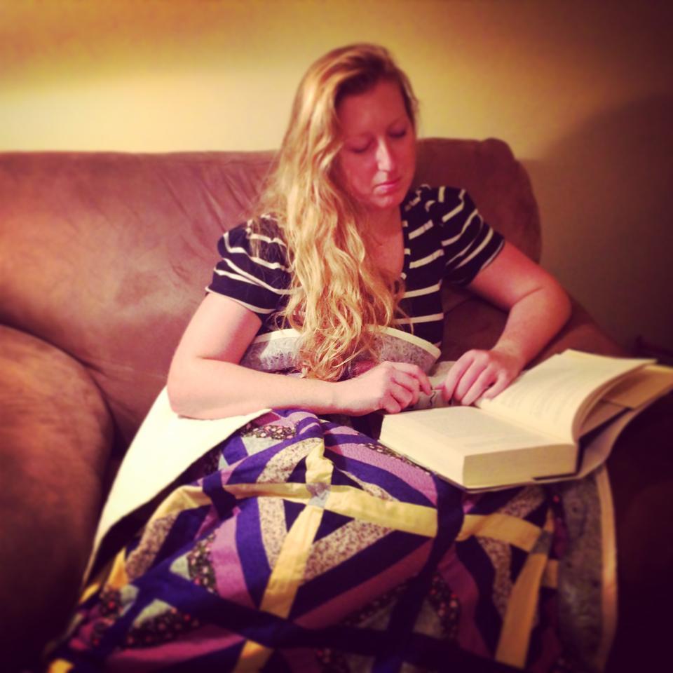 Reading quilt