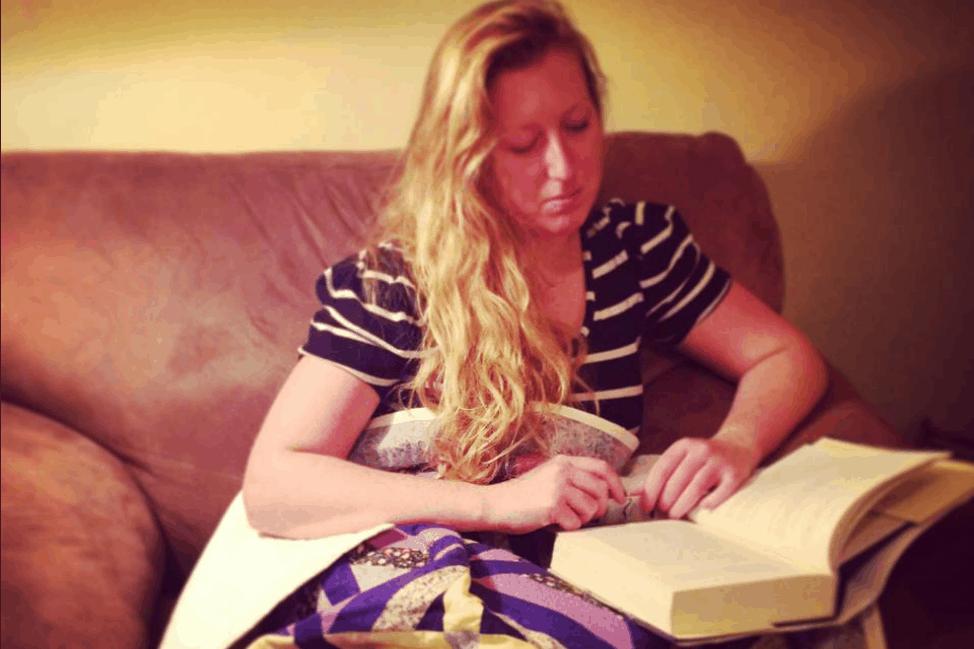 Candice-reading