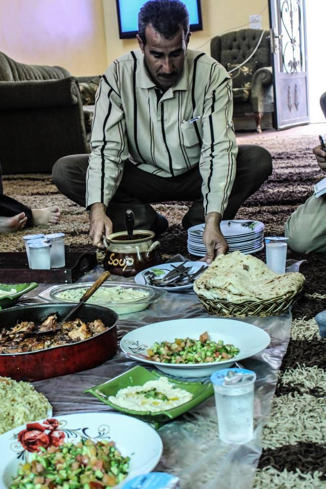 Dinner in Aljoun