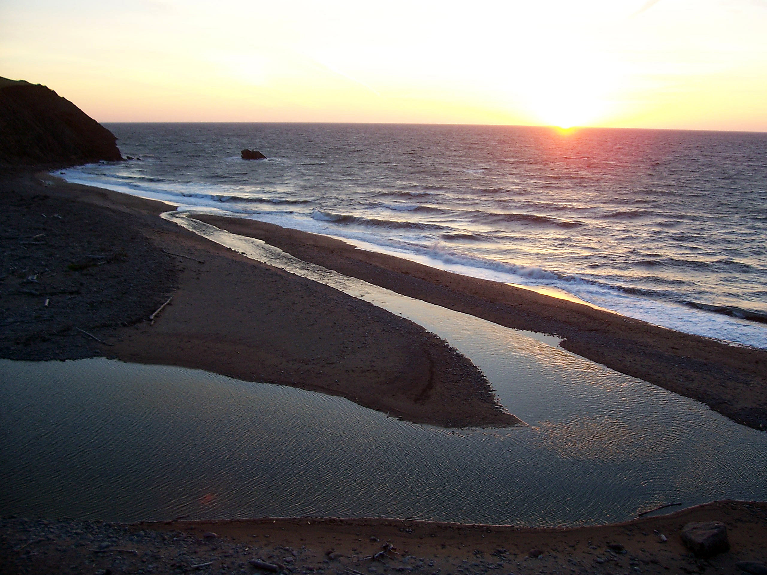 Picture #6 - Pollett's Cove Sunset