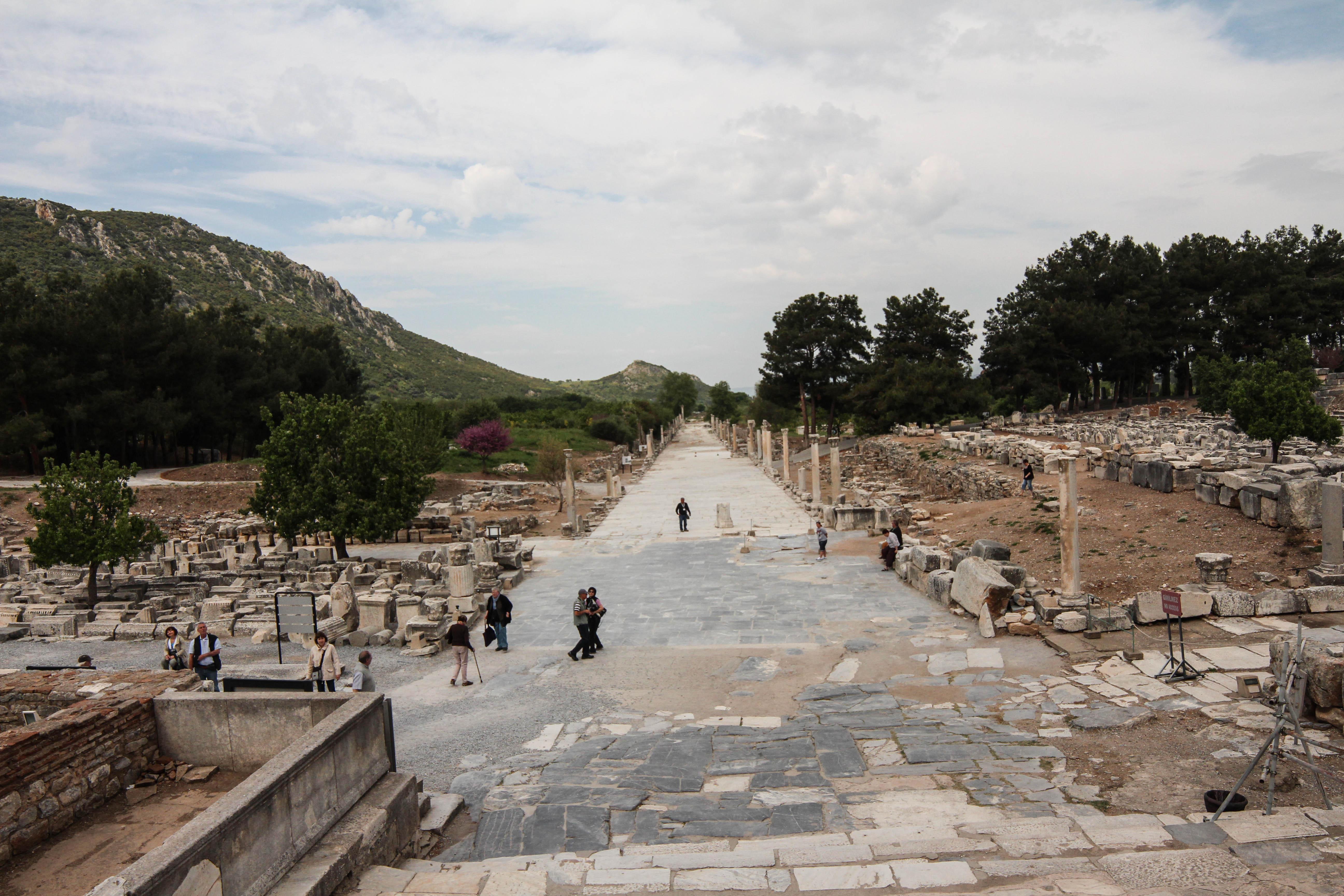 The marble road at Ephesus