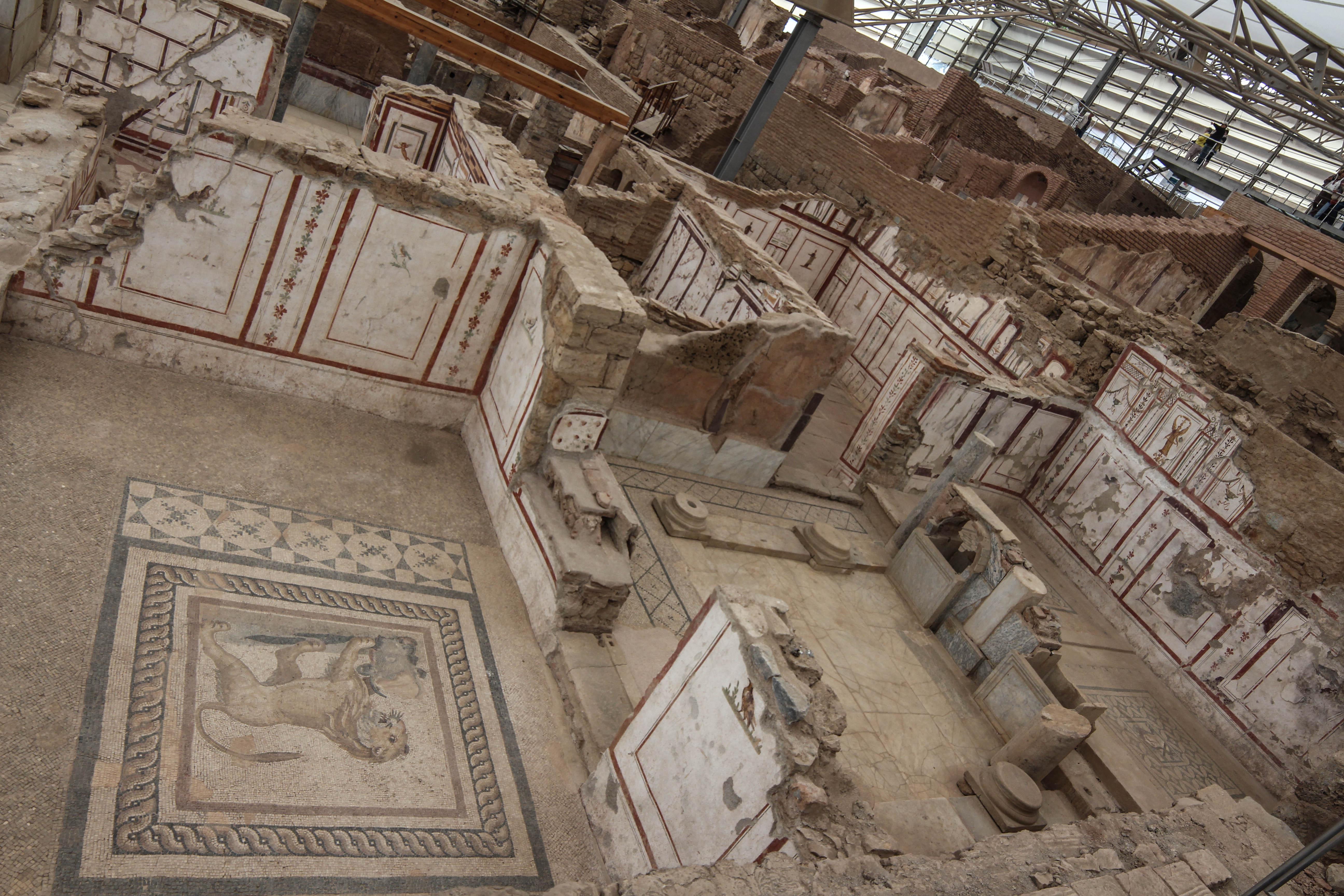 The Lion's Room, Ephesus