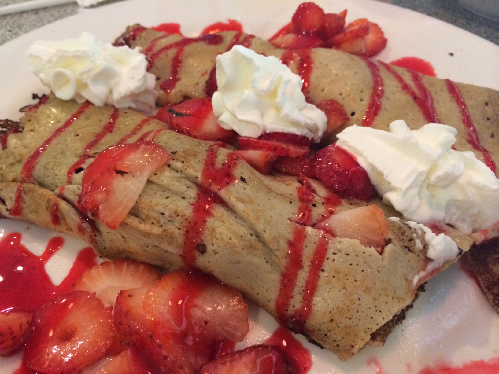 A crepe breakfast