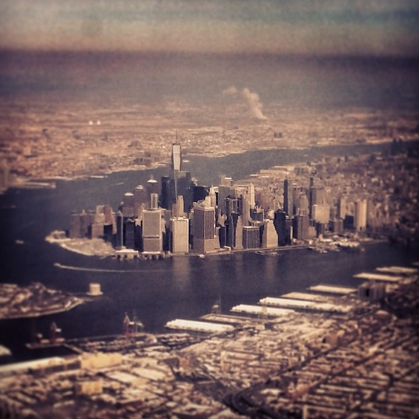 Arriving in NYC