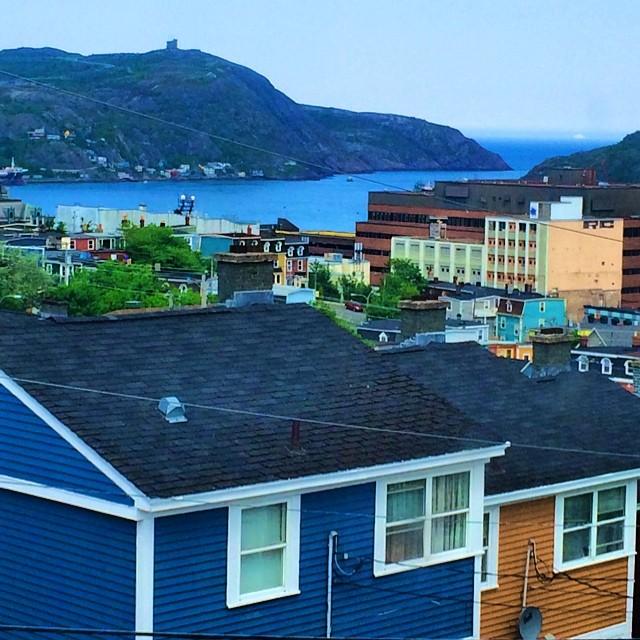 St. John's view
