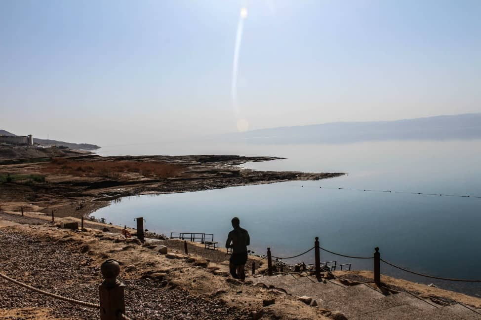 Dead Sea Jordan from Kempinski Ishtar