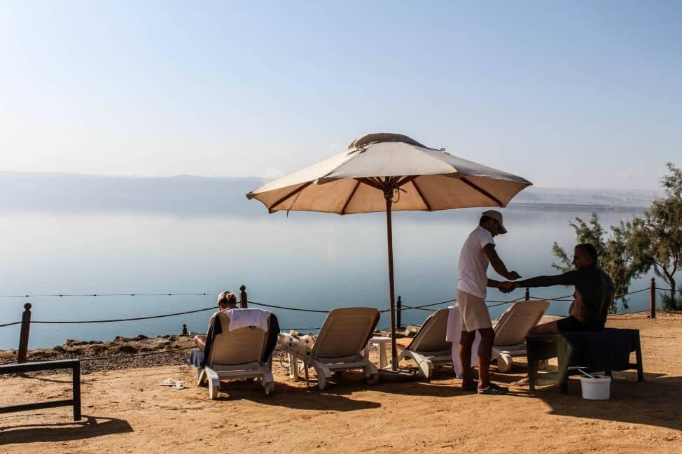From the Dead Sea in Jordan