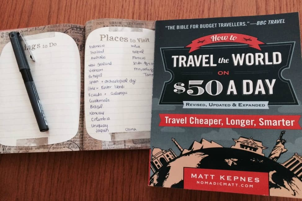 How to travel the world on 50 a day
