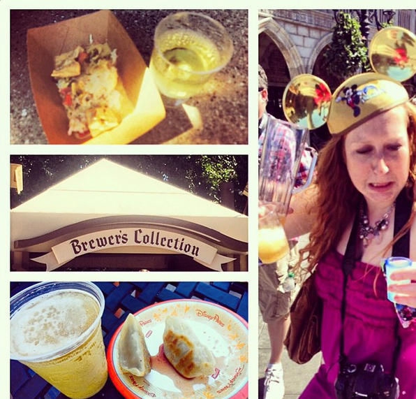 Food and Wine Fest Disneyland