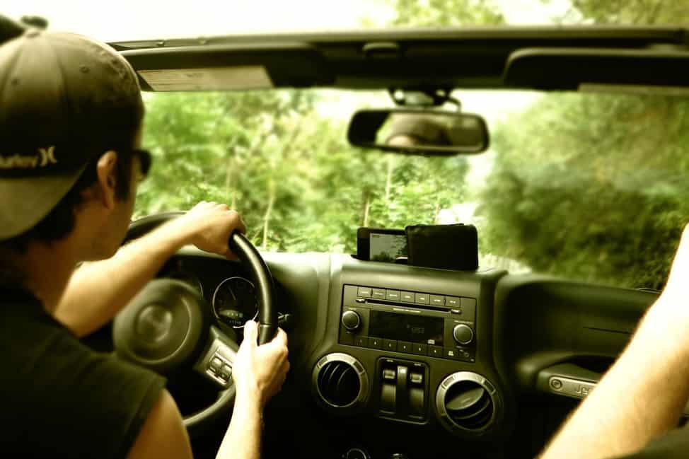 A Jeep trip on the Road to Hana