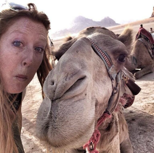 Camel selfie!