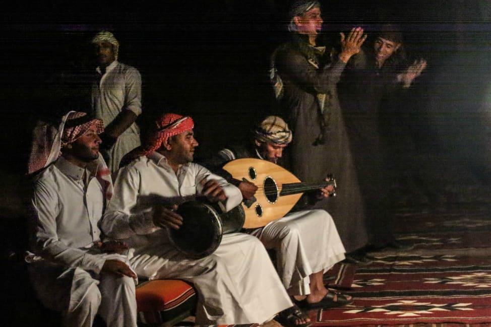 Music in Wadi Rum