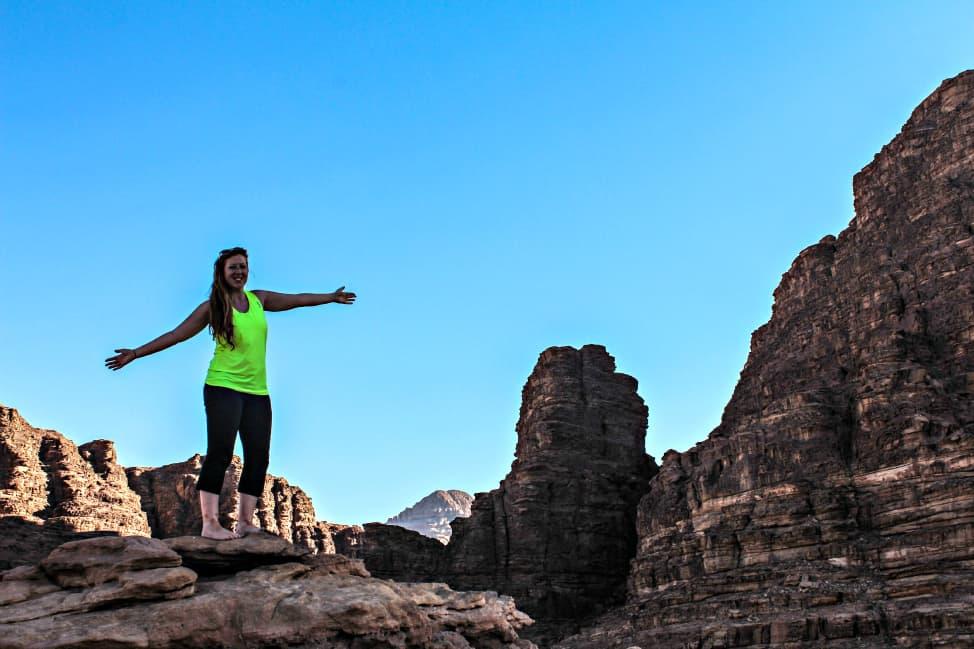 Free Candie in Wadi Rum
