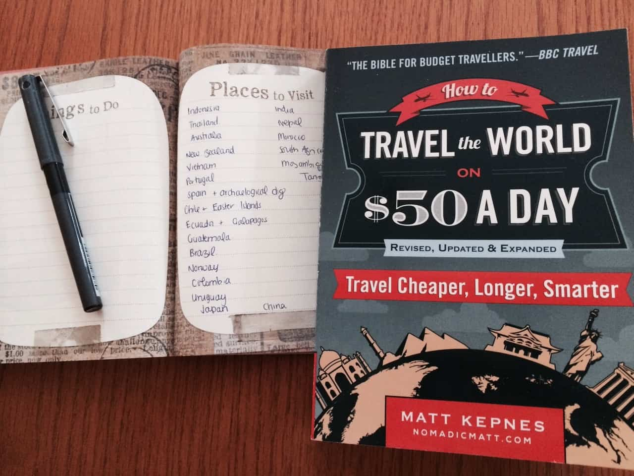 How to travel the world on 50 day