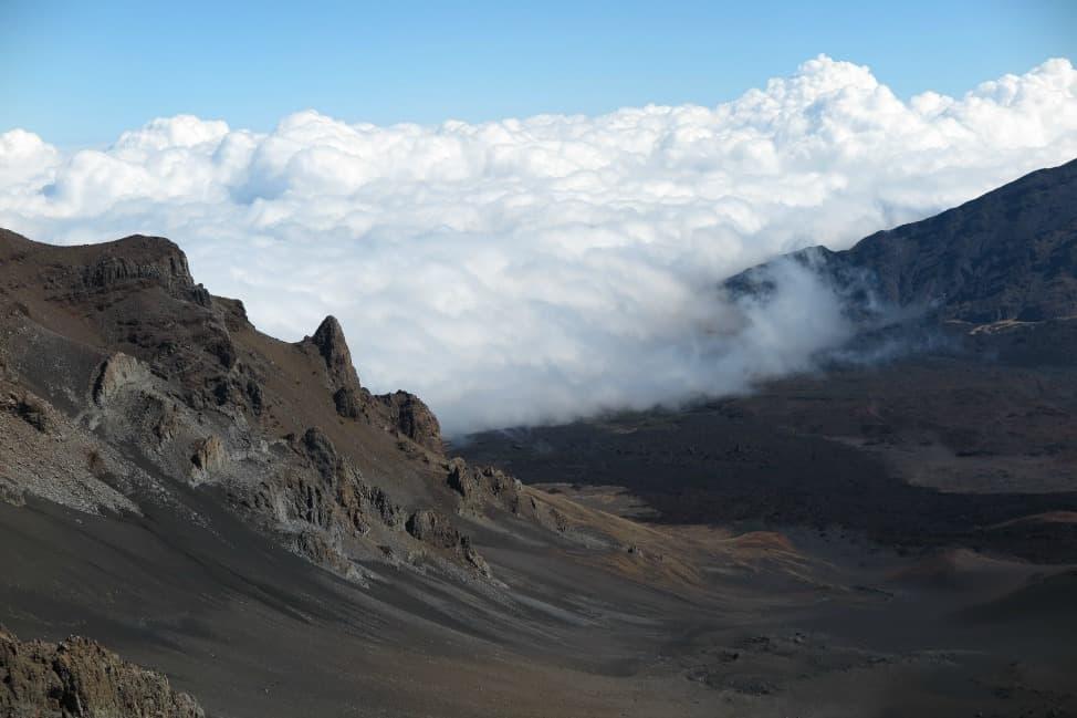 Haleakala Volcano hiking