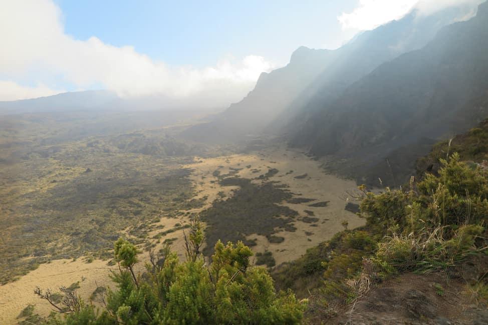 Lush landscape on Haleakala Volcano