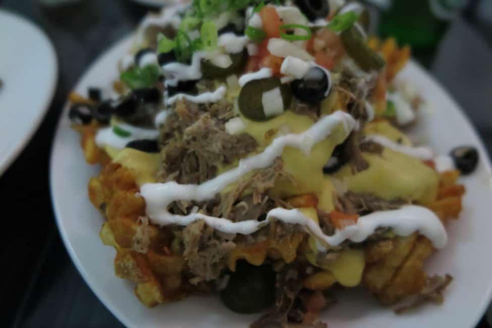 kalua pork nachos