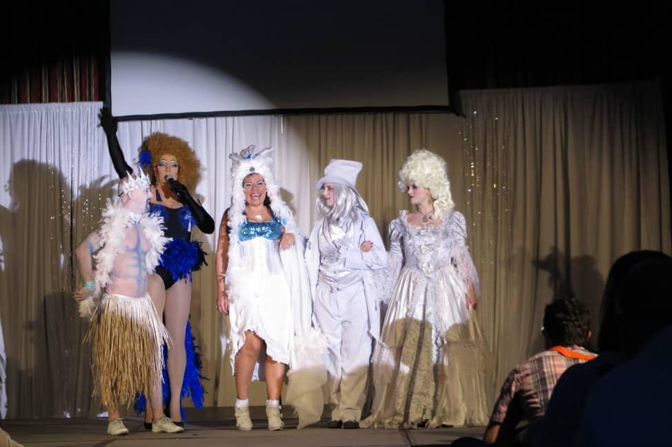 Costume contest at Jasper Pride