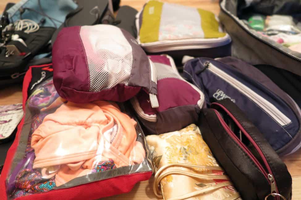 Lewis N. Clark packing cubes