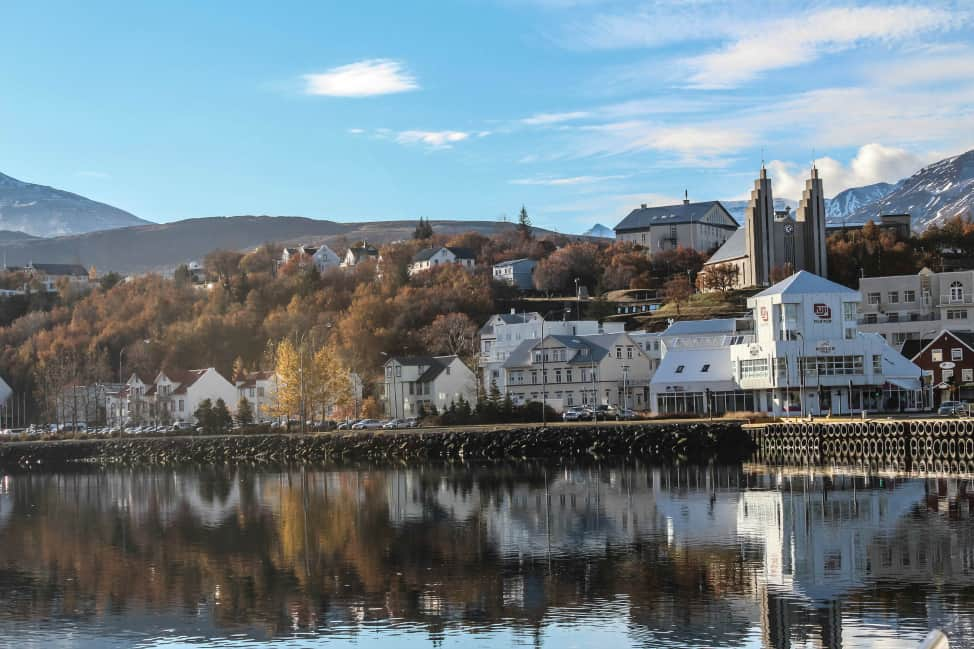 Akureyri is beautiful