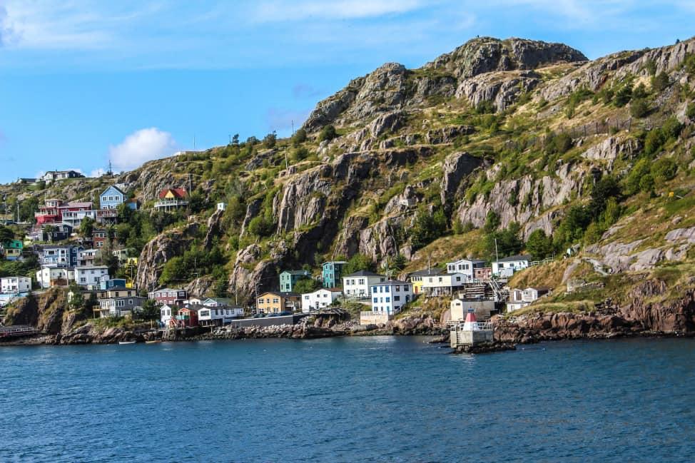 The Battery in St. John's, Newfoundland