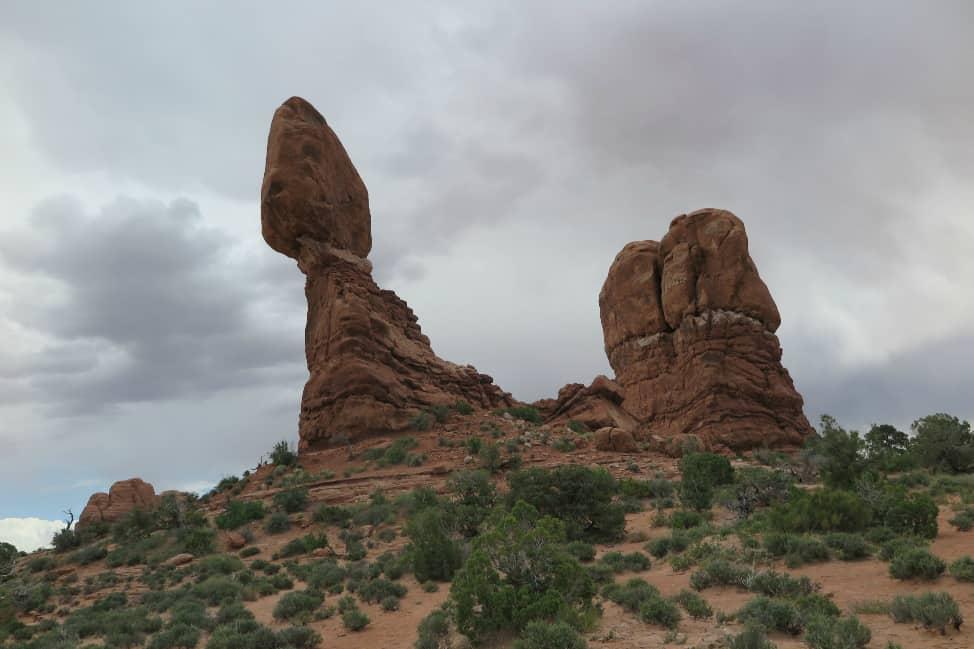 Balancing Rock, Utah