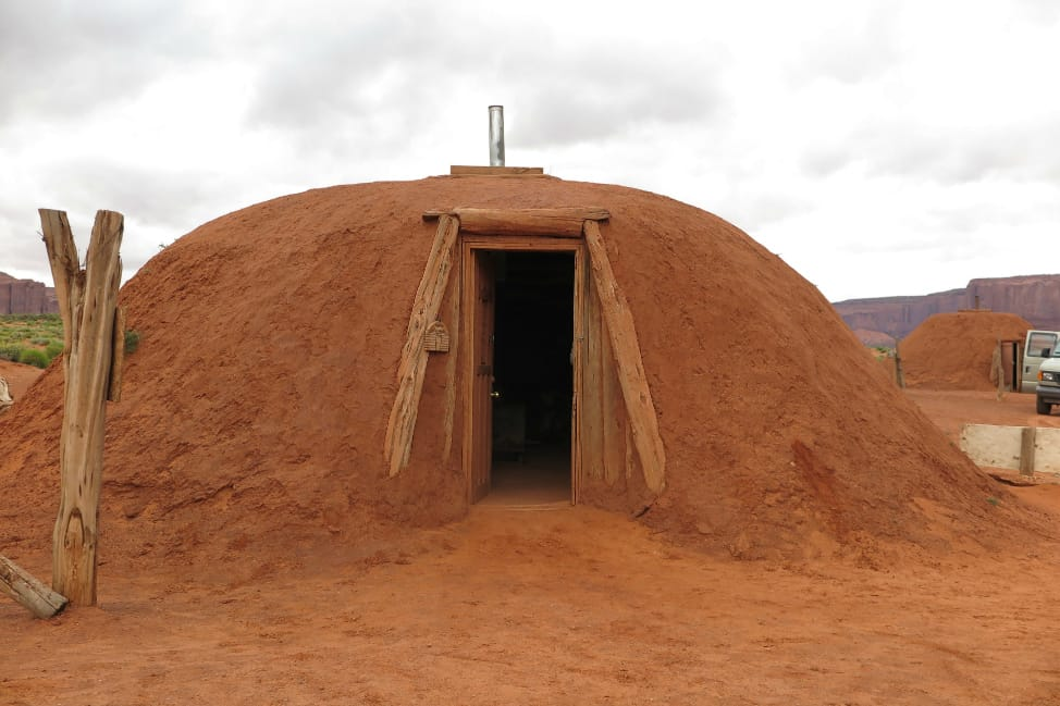 Hogan, traditional Navajo hut... Pictures | Getty Images