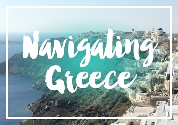 Posts on navigating Greece