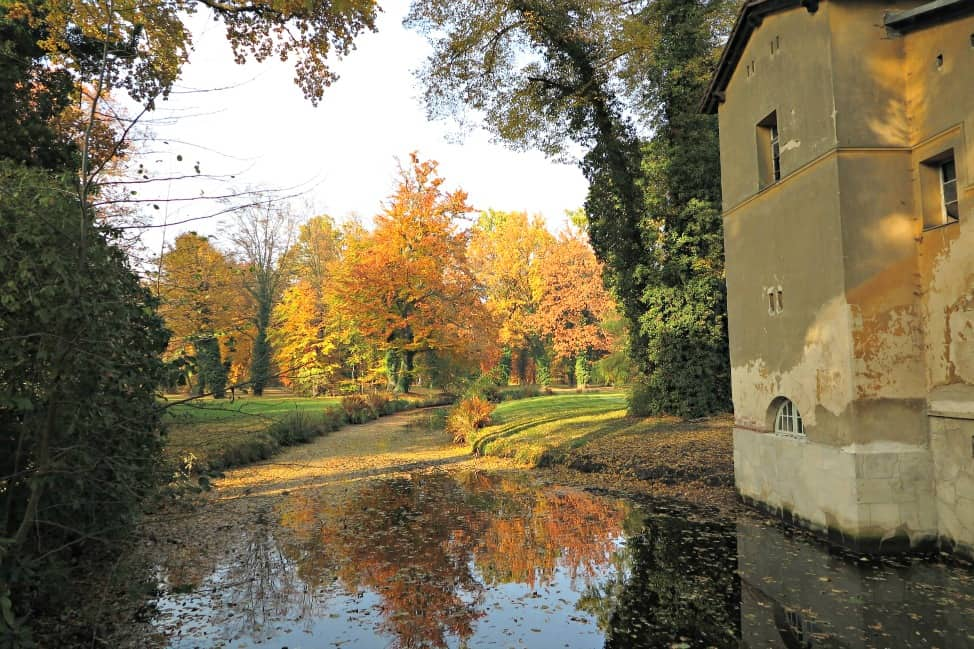 A glimpse of Autumn in Potsdam