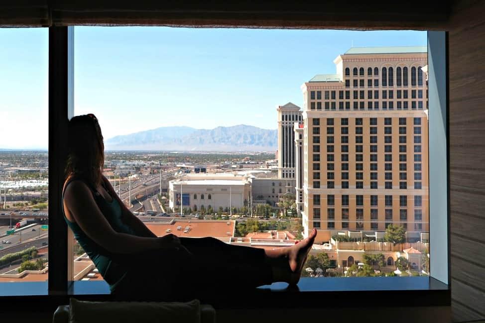 Vegas view from Vdara