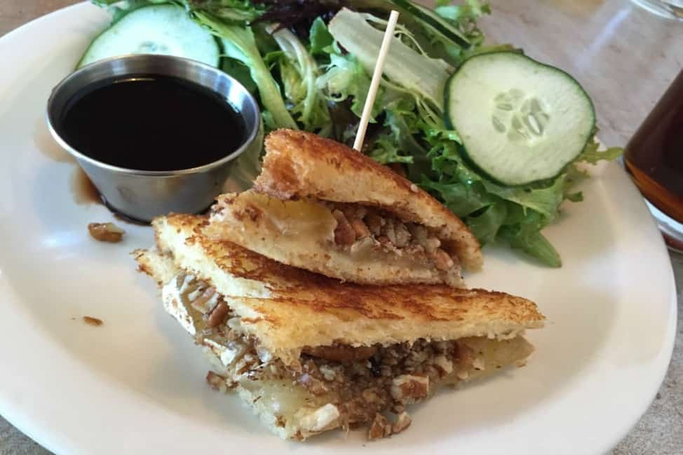 Grilled cheese at MTO Cafe, Vegas