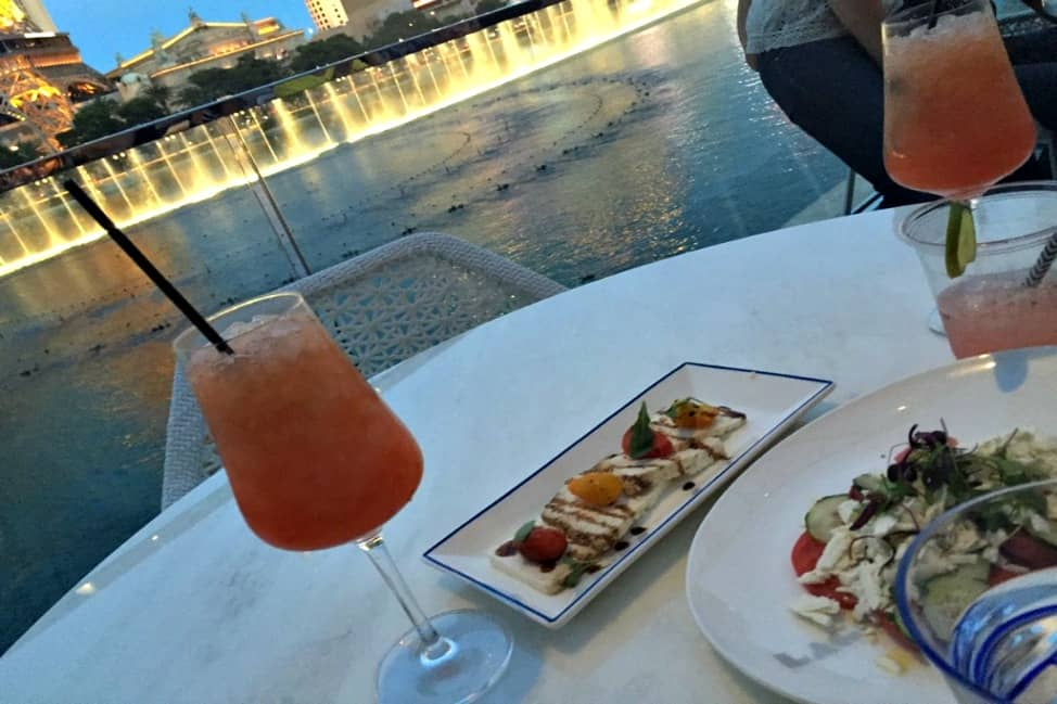 Cocktails at Lago, Bellagio