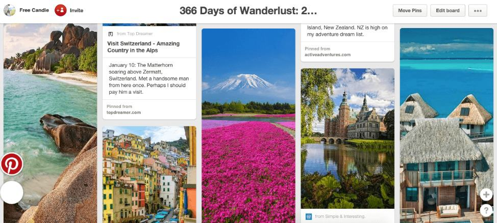 366 Days of Wanderlust
