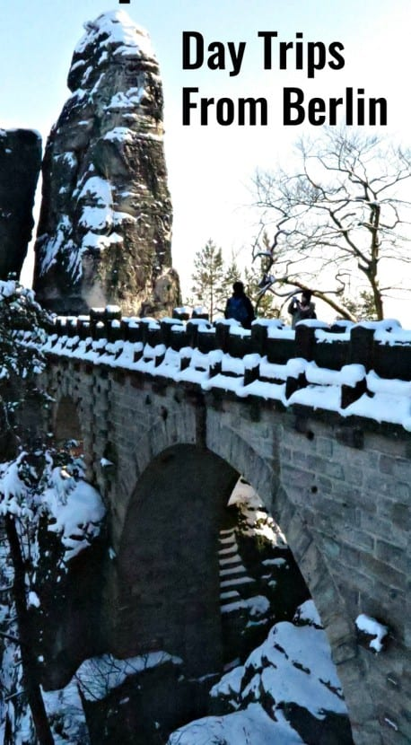 Saxon Switzerland National Park makes for a great day trip from Berlin.
