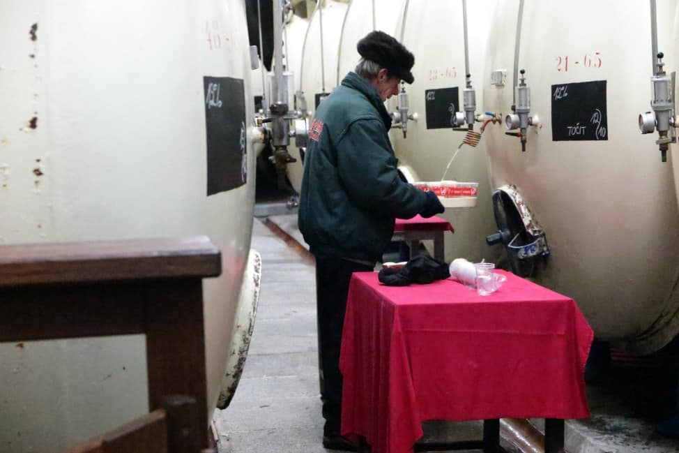 Man pouring Budweiser