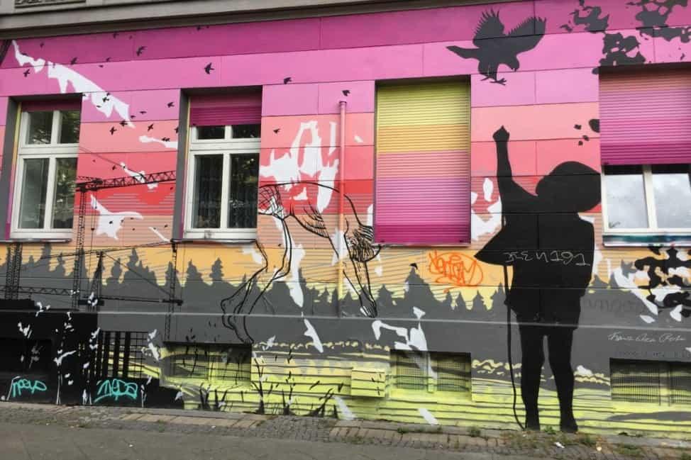 Berlin street art stories