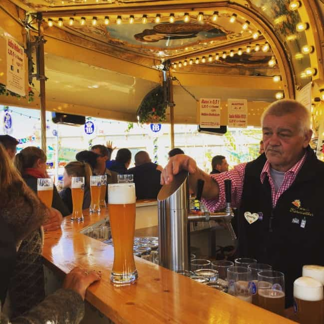 beer merry go round