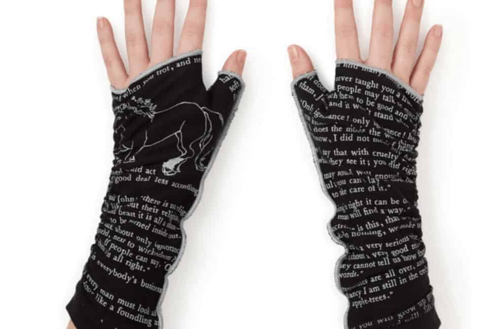 literary gloves