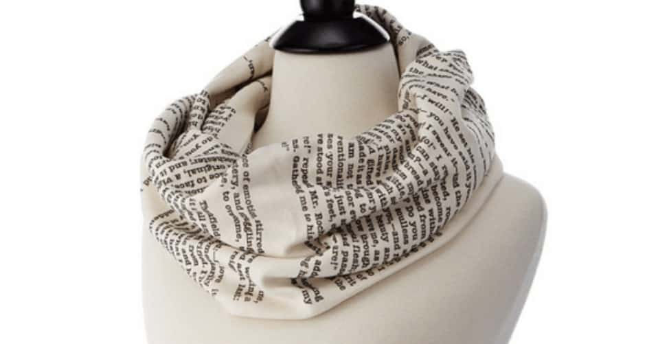 Literary scarf