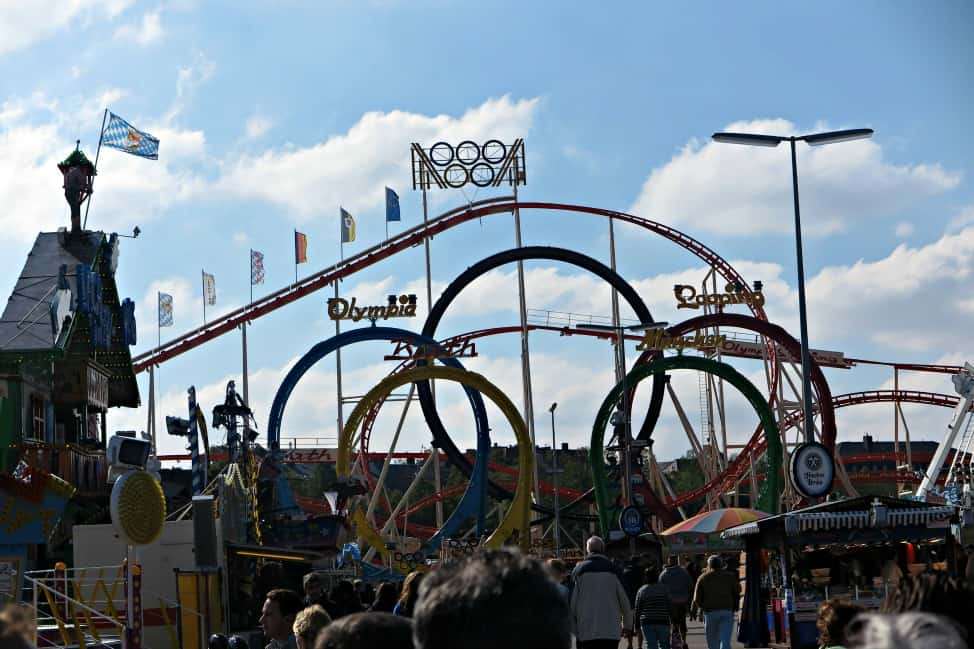 oktoberfest rollercoaster