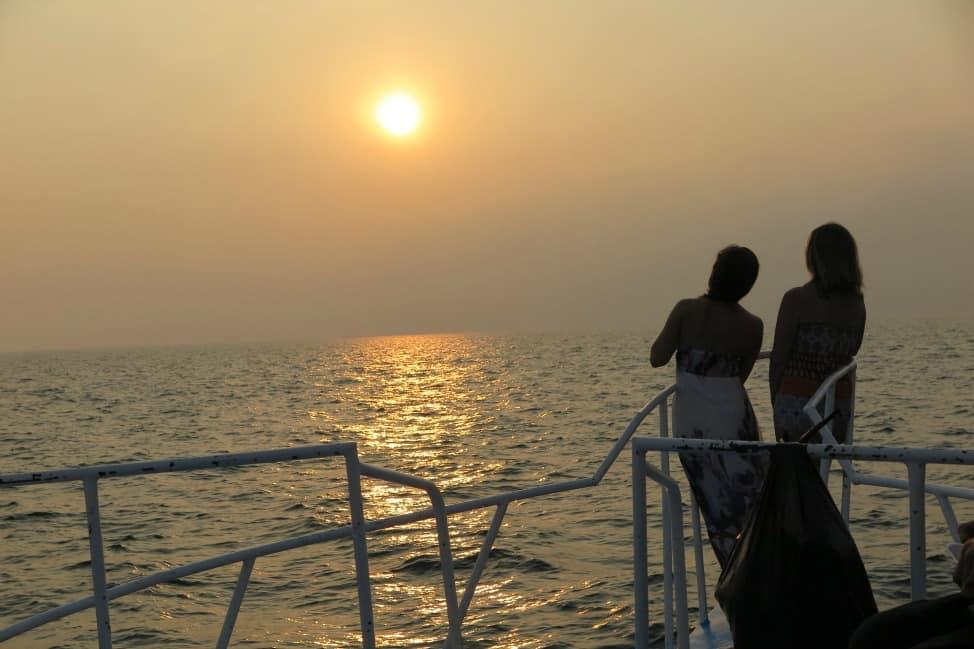 Boat cruise in Panajachel