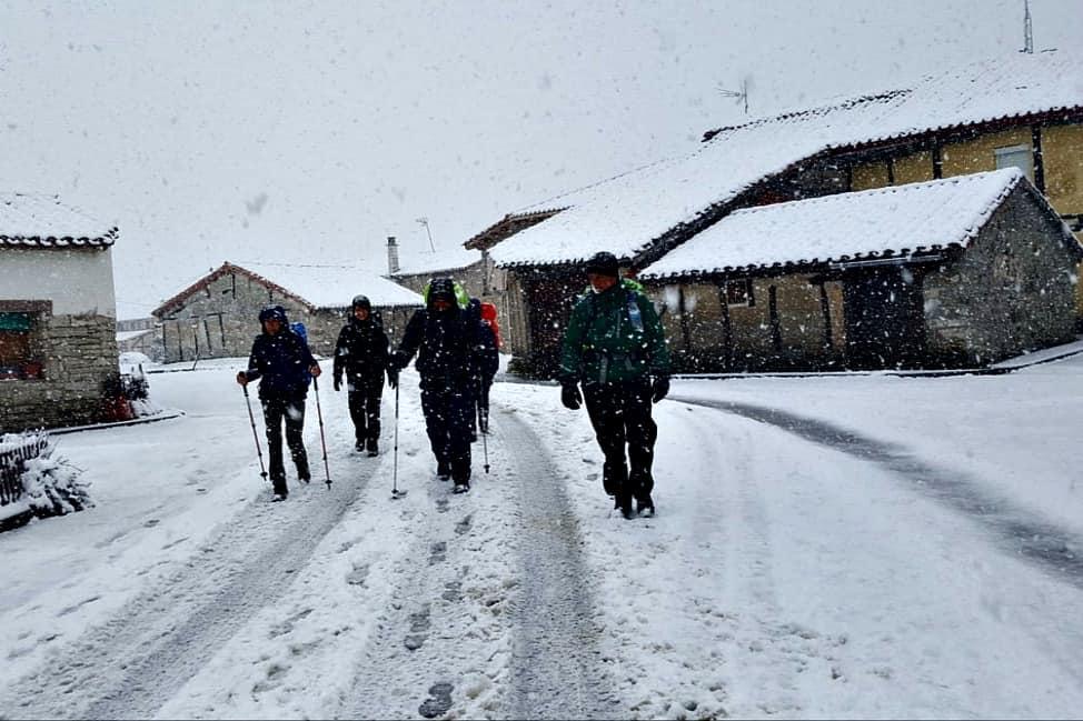 Walking in the snow-min